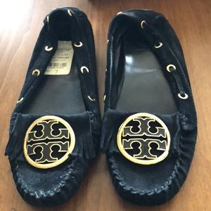 Black Tory Burch moccasin new 7